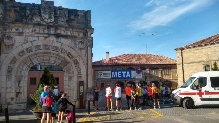 Zona de salida/meta Maratón Aguilar de Campoo